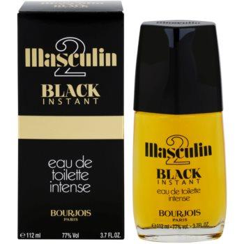 Bourjois Masculin Black Instant Eau de Toilette pentru bărbați