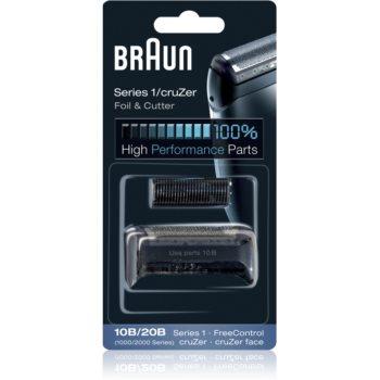 Braun Series 1 10B/20B CombiPack CruZer Foil & Cutter benzi si lame de tăiere imagine 2021 notino.ro