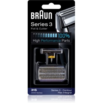 Braun Series 3 31S CombiPack Foil & Cutter benzi si lame de tăiere imagine 2021 notino.ro