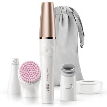 Braun FaceSpa Pro 912 sistem 3 în 1 pentru epilarea feței, curățarea și tonifierea tenului imagine 2021 notino.ro