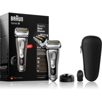 Braun Series 9 9325s Graphite with Charging Stand aparat de ras cu planificare imagine 2021 notino.ro