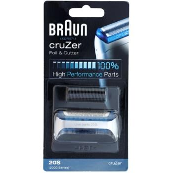 Braun Series 1 20S CombiPack cruZer benzi si lame de tăiere imagine 2021 notino.ro