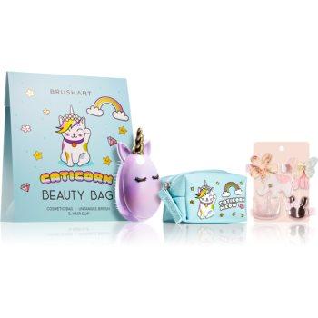 BrushArt KIDS set de cosmetice Caticorn Beauty bag blue II. imagine 2021 notino.ro