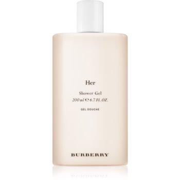 Burberry Her gel de duș pentru femei