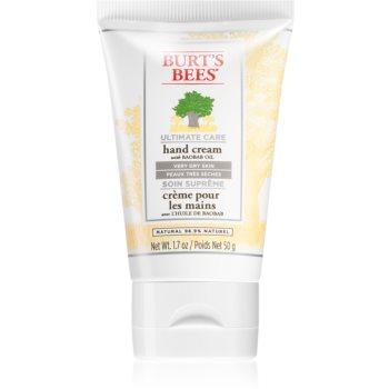 Burt's Bees Ultimate Care crema de maini pentru piele foarte uscata imagine 2021 notino.ro