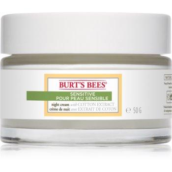 Burt's Bees Sensitive crema hidratanta de noapte pentru piele sensibilă imagine 2021 notino.ro