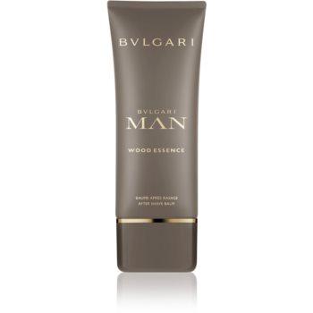 Bvlgari Man Wood Essence balsam după bărbierit pentru bărbați