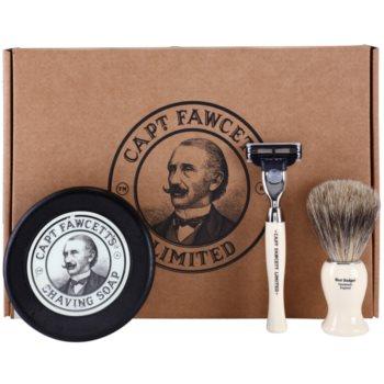 Captain Fawcett Shaving set de cosmetice I. pentru bărbați imagine 2021 notino.ro