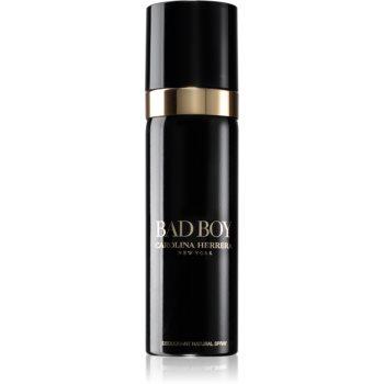 Carolina Herrera Bad Boy deodorant spray pentru bărbați