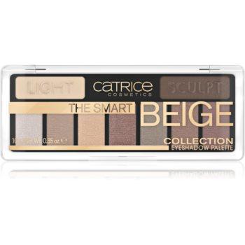 Catrice The Smart Beige Collection paletă cu farduri de ochi imagine 2021 notino.ro