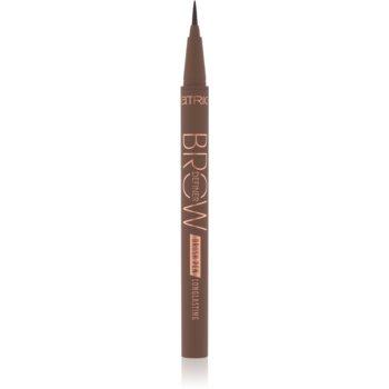 Catrice Brow Definer Brush Pen Longlasting creion pentru sprancene notino.ro
