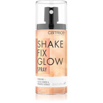 Catrice Shake Fix Glow spray pentru fixare și strălucire imagine 2021 notino.ro
