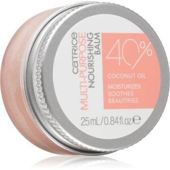 Catrice Skin Lovers Multi-Purpose Nourishing Balm balsam de buze nutritiv cu ulei de cocos imagine 2021 notino.ro