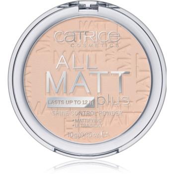 Catrice All Matt Plus pudra matuire imagine 2021 notino.ro