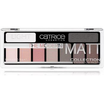 Catrice The Modern Matt Collection paleta farduri de ochi notino.ro