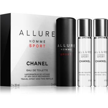 Chanel Allure Homme Sport toaletní voda pro muže 3 x 20 ml