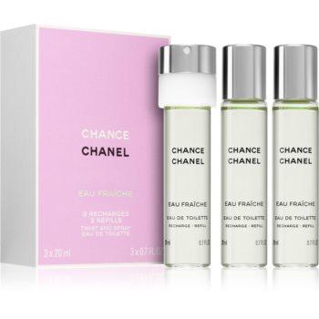 Chanel Chance Eau Fraiche toaletní voda dámská 60 ml