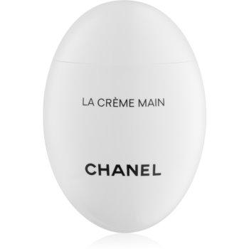 Chanel La Crème Main crema nutritiva de maini si unghii cu efect lucios notino poza