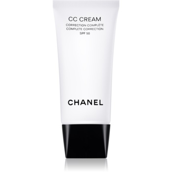 Chanel CC Cream Crema matifianta SPF 50 notino poza