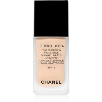 Chanel Le Teint Ultra machiaj matifiant de lungă durată SPF 15 imagine 2021 notino.ro