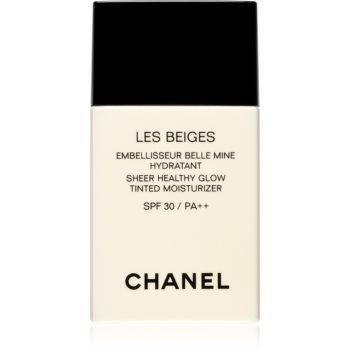Chanel Les Beiges Sheer Healthy Glow Tinted Moisturizer cremă hidratantă nuanțatoare, cu efect de iluminare SPF 30 imagine 2021 notino.ro
