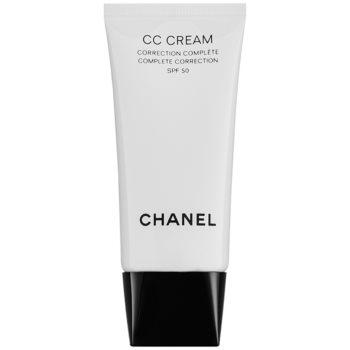 Chanel CC Cream Crema matifianta SPF 50 imagine 2021 notino.ro