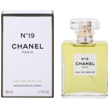 Chanel N°19 Eau de Parfum cu atomizor pentru femei