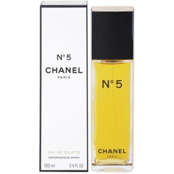 Chanel N°5 Eau de Toilette pentru femei imagine 2021 notino.ro