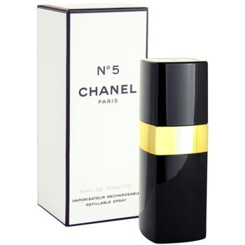 Chanel N°5 Eau de Toilette reincarcabil pentru femei