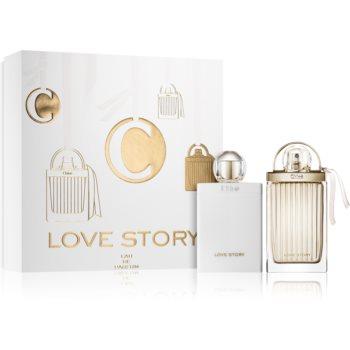 Chloé Love Story parfémovaná voda 75 ml + parfémované tělové mléko 100 ml