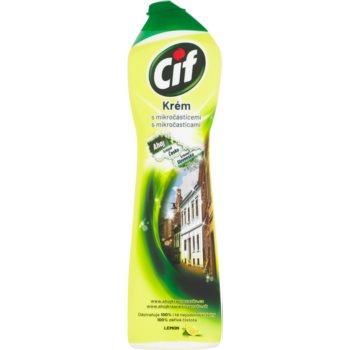 Cif Cream Lemon produs universal pentru curățare imagine 2021 notino.ro