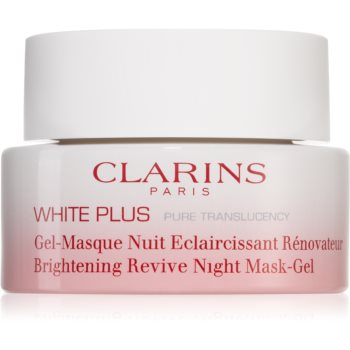 Clarins White Plus Pure Translucency Brightening Revive Night Mask-Gel mască iluminatoare de noapte imagine 2021 notino.ro