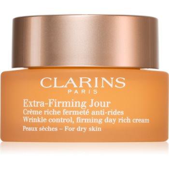Clarins Extra-Firming Day crema de zi pentru lifting pentru tenul uscat imagine 2021 notino.ro