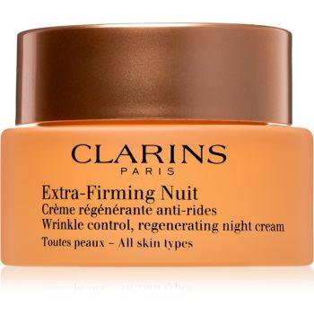 Clarins Extra-Firming Night cremă de noapte pentru fermitate cu efect de regenerare pentru toate tipurile de ten notino poza