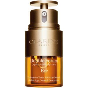 Clarins Double Serum Eye protivráskové sérum na oční okolí s vyživujícím účinkem 20 ml