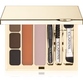 Clarins Kit Sourcils Pro Perfect Eyes & Brows Palette set pentru sprancene perfecte imagine 2021 notino.ro