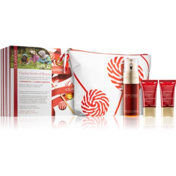 Clarins Double Serum & Super Restorative set de cosmetice (împotriva îmbătrânirii pielii) notino poza