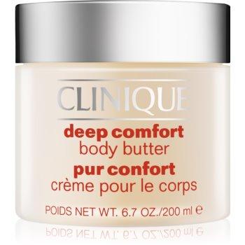 Clinique Deep Comfort™ Body Butter unt pentru corp pentru piele foarte uscata imagine 2021 notino.ro