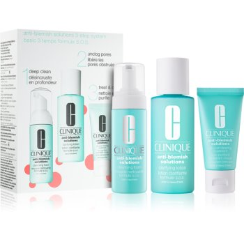 Clinique Anti-Blemish Solutions™ Clear Skin System Starter Kit Seturi pentru voiaj I. pentru femei notino.ro