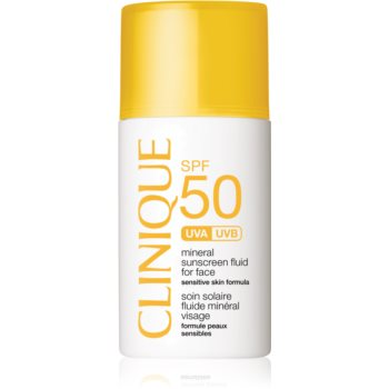 Clinique Sun SPF 50 Mineral Sunscreen Fluid For Face fluid mineral cu protecție solară SPF 50 imagine 2021 notino.ro