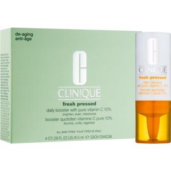 Clinique Fresh Pressed™ Daily Booster with Pure Vitamin C 10% ser stralucire cu vitamina C împotriva îmbătrânirii pielii imagine 2021 notino.ro
