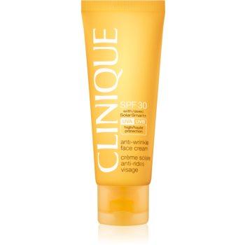 Clinique Sun SPF 30 Sunscreen Oil-Free Face Cream Crema pentru protectie anti-riduri SPF 30 notino.ro
