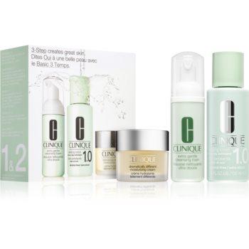 Clinique 3 Steps Introduction Kit Extra Gentle set de cosmetice XIII. pentru femei imagine 2021 notino.ro