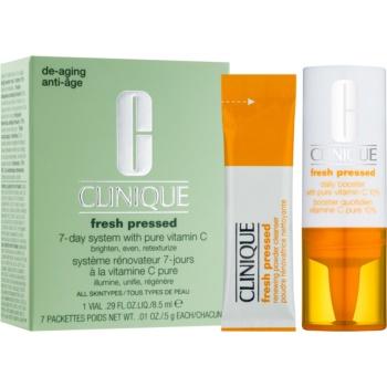 Clinique Fresh Pressed™ 7-Day System with Pure Vitamin C set de cosmetice I. pentru femei imagine 2021 notino.ro