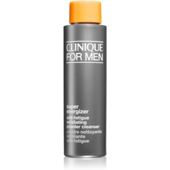 Clinique For Men™ Super Energizer Anti-Fatigue Exfoliating Powder Cleanser pudra exfolianta imagine 2021 notino.ro