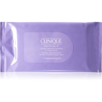 Clinique Take The Day Off™ Micellar Cleansing Towelettes for Face & Eyes Servetele demachiante imagine 2021 notino.ro