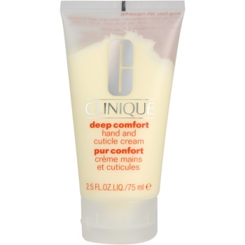 Clinique Deep Comfort™ Hand and Cuticle Cream crema puternic hidratanta pe maini, unghii si cuticule notino.ro