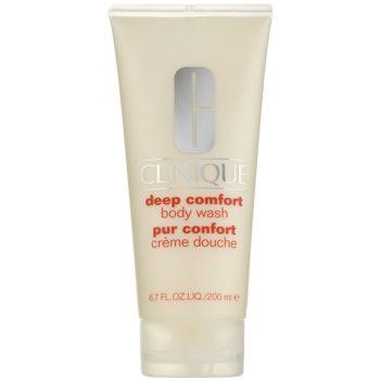 Clinique Deep Comfort™ Body Wash gel de dus delicat pentru toate tipurile de piele imagine 2021 notino.ro