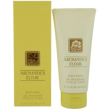 Clinique Aromatics Elixir gel de duș pentru femei