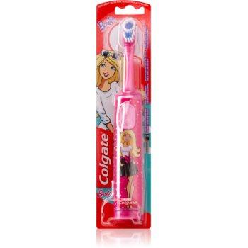 Colgate Kids Barbie baterie perie de dinti pentru copii foarte moale imagine 2021 notino.ro